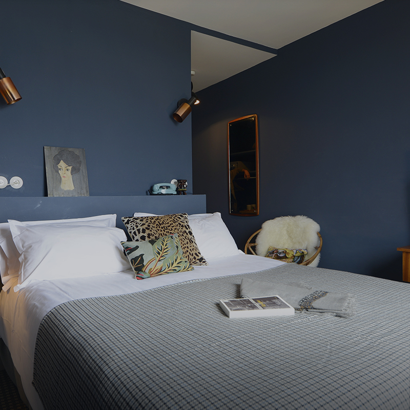 hotel 39 baie de somme 39 double room with bay view les. Black Bedroom Furniture Sets. Home Design Ideas