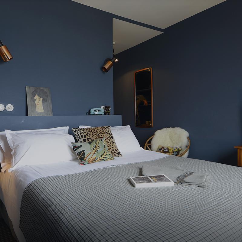 Chambre double hôtel de charme à Saint Valery sur Somme