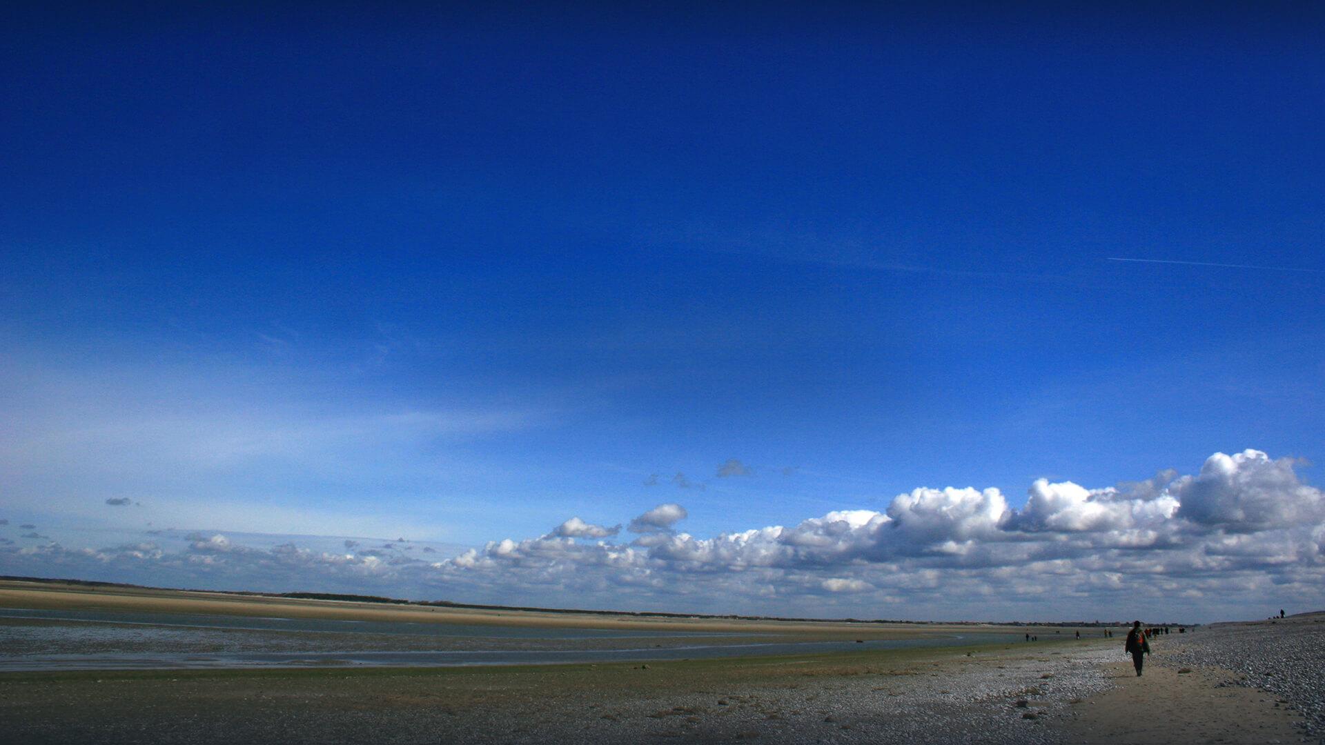 plage en Baie de Somme